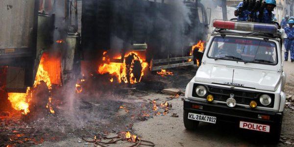 सामान्य स्थिति बहाल होने के बाद बेंगलुरू में कफ्र्यूू हटा