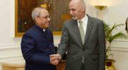राष्ट्रपति मुखर्जी से मिले अफगान राष्ट्रपति अशरफ गनी